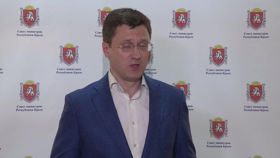 Russia: Novak summarises Crimea's energy needs after meeting in Simferopol