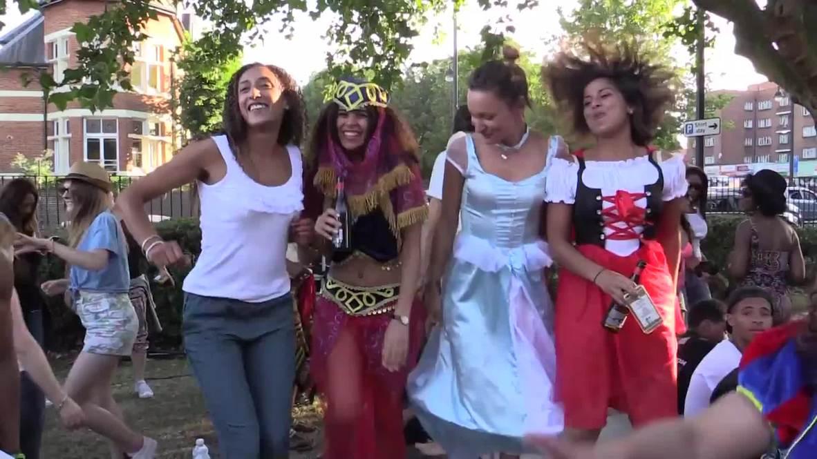 UK: Thousands attend 10th annual Brixton Splash street festival