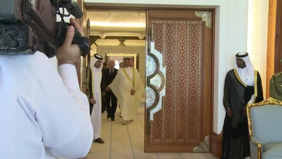Qatar: Lavrov meets Emir of Qatar