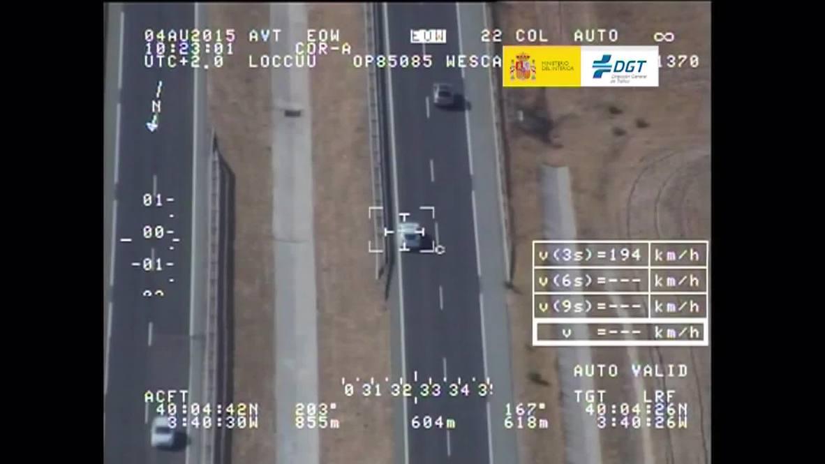 Spain: Speeding Porsche driver takes child on 218 kph juvie-joyride, without seatbelt