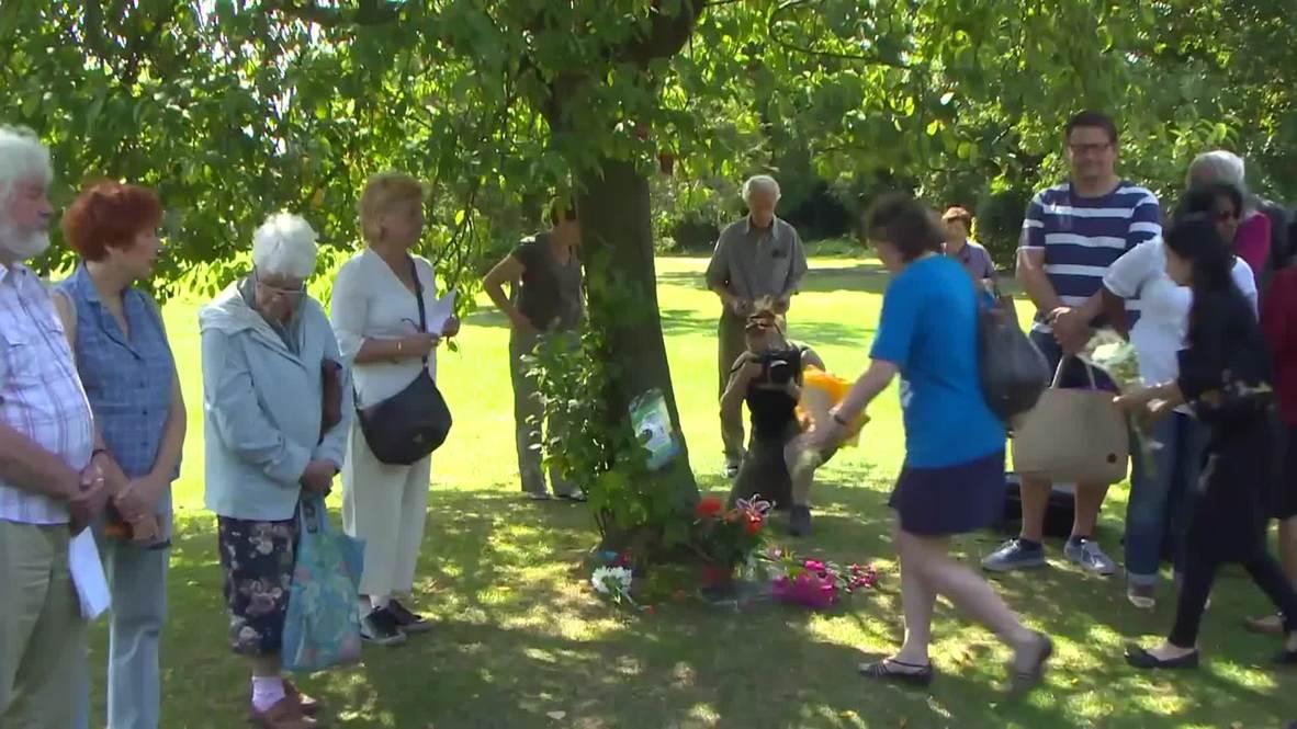 UK: Londoners commemorate 70 years since Hiroshima  Nagasaki bombings