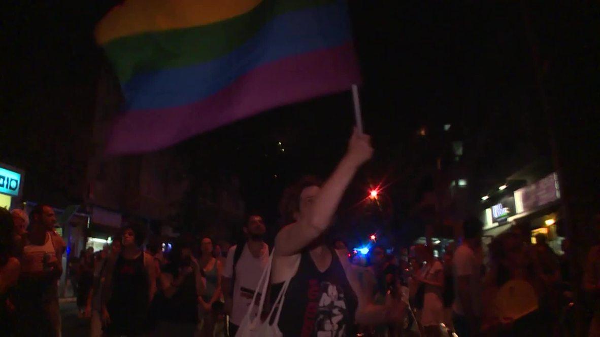 Israel: Fatal Gay Pride stabbing condemned at Tel Aviv rally