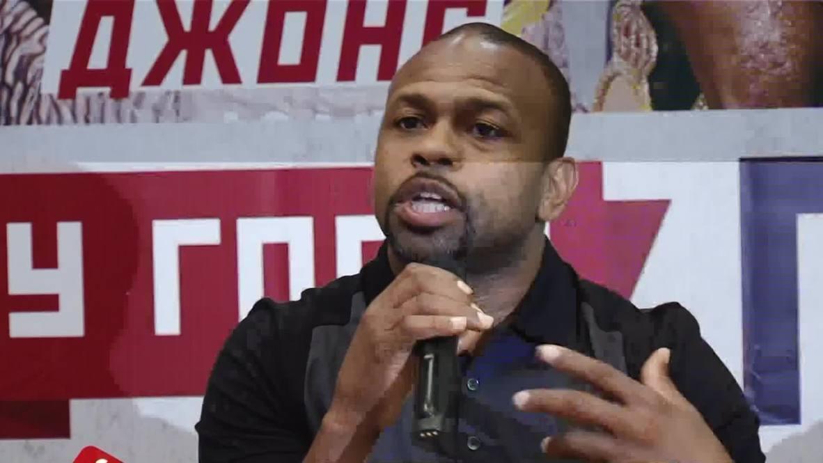 Russia: Boxer Roy Jones Junior signs citizenship request
