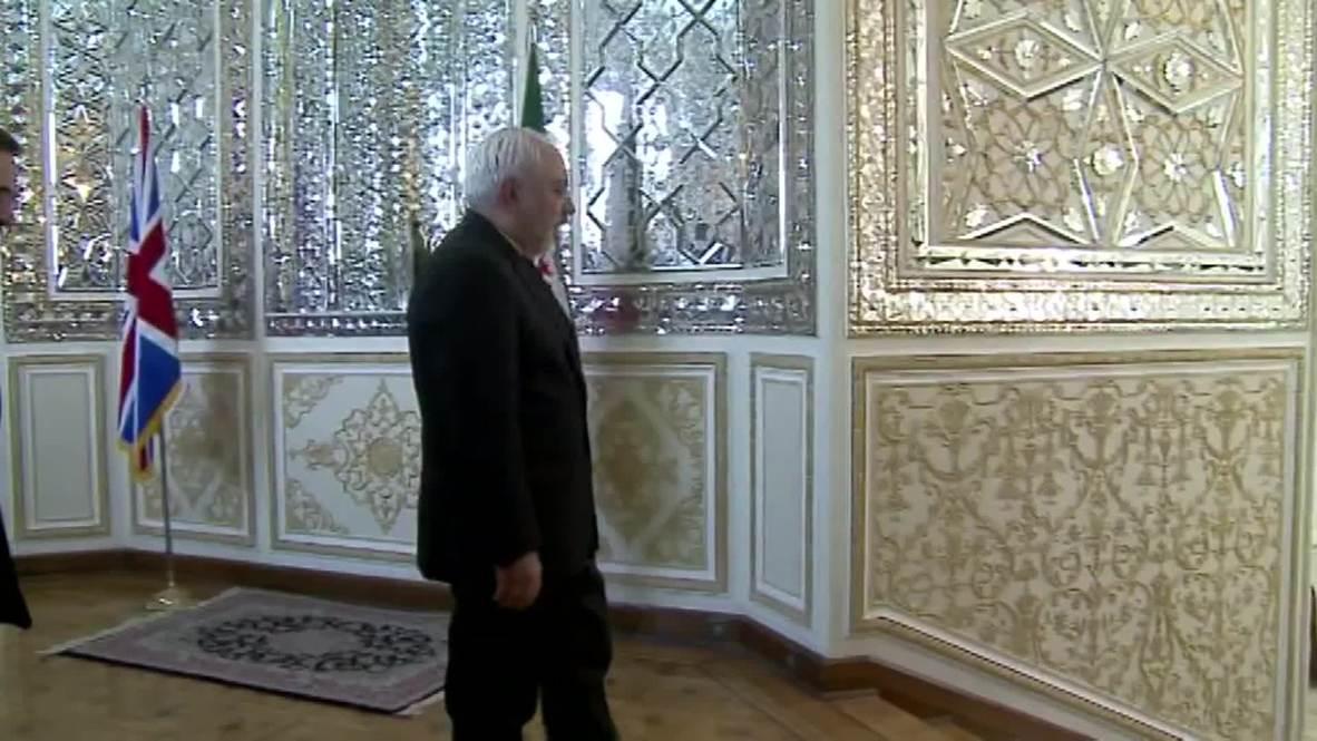 Iran: Hammond attends UK Embassy re-opening ceremony in Tehran