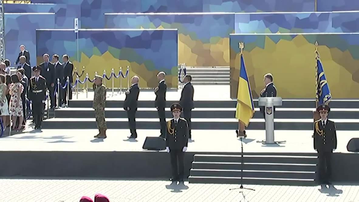 Ukraine: Poroshenko labels Novorossiya a myth just like Tolkien's Mordor