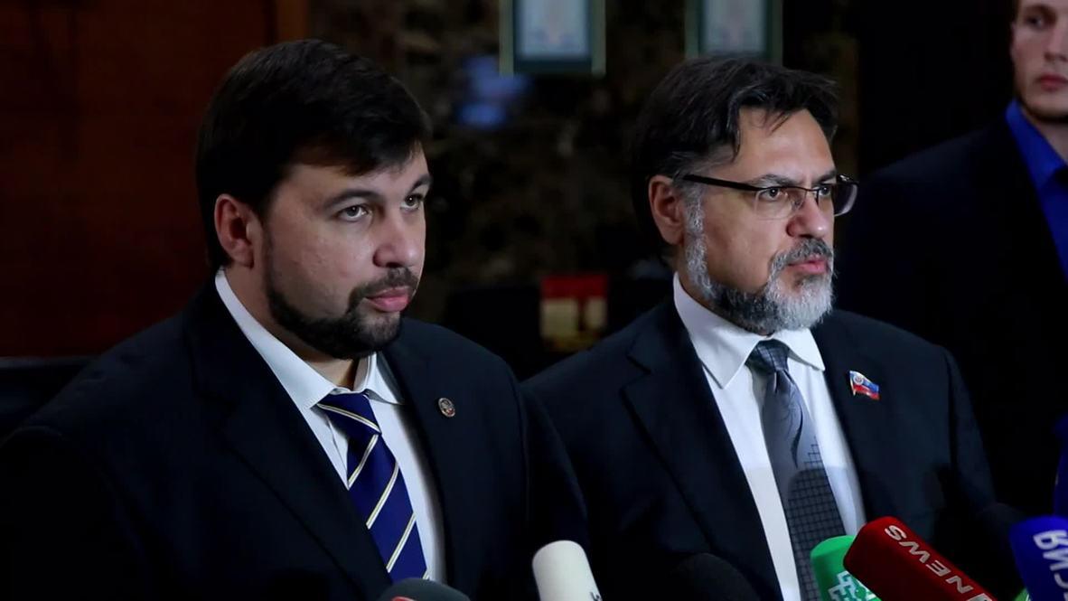 Belarus: DPR/LPR back new Sept 1 ceasefire agreement
