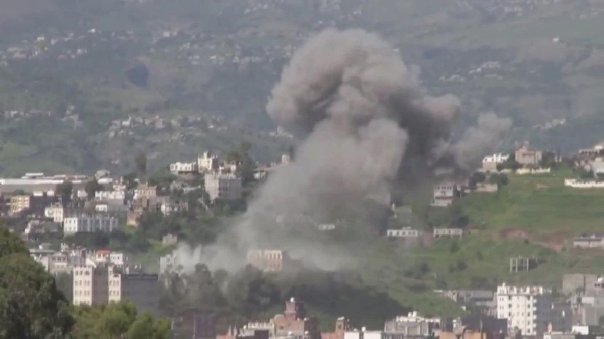 Yemen: At least 36 dead as Saudi warplanes strike bottling plant