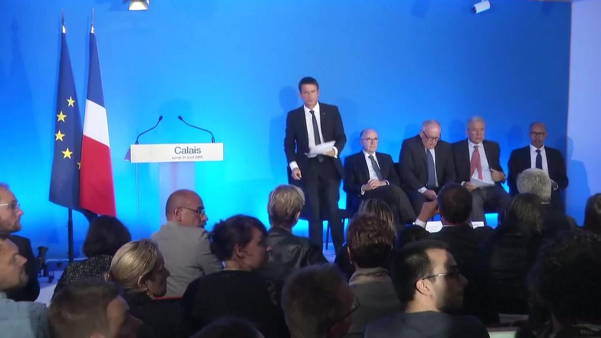 France: EC's Timmermans & Avramopoulos, PM Valls talk refugee crisis
