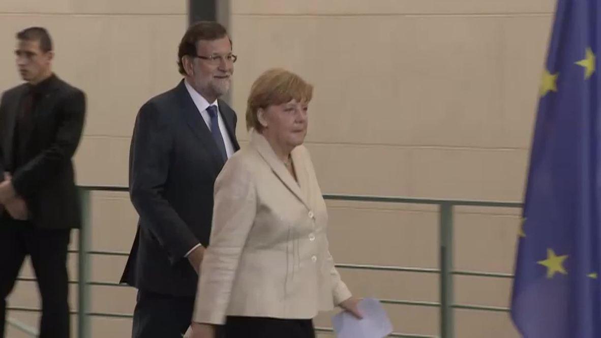 Germany: Merkel calls on EU states to do more as refugee crisis deepens