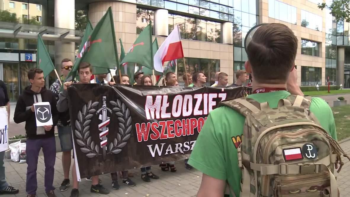 Poland: Punishing patriotism? Nationalists protest against Polish FA