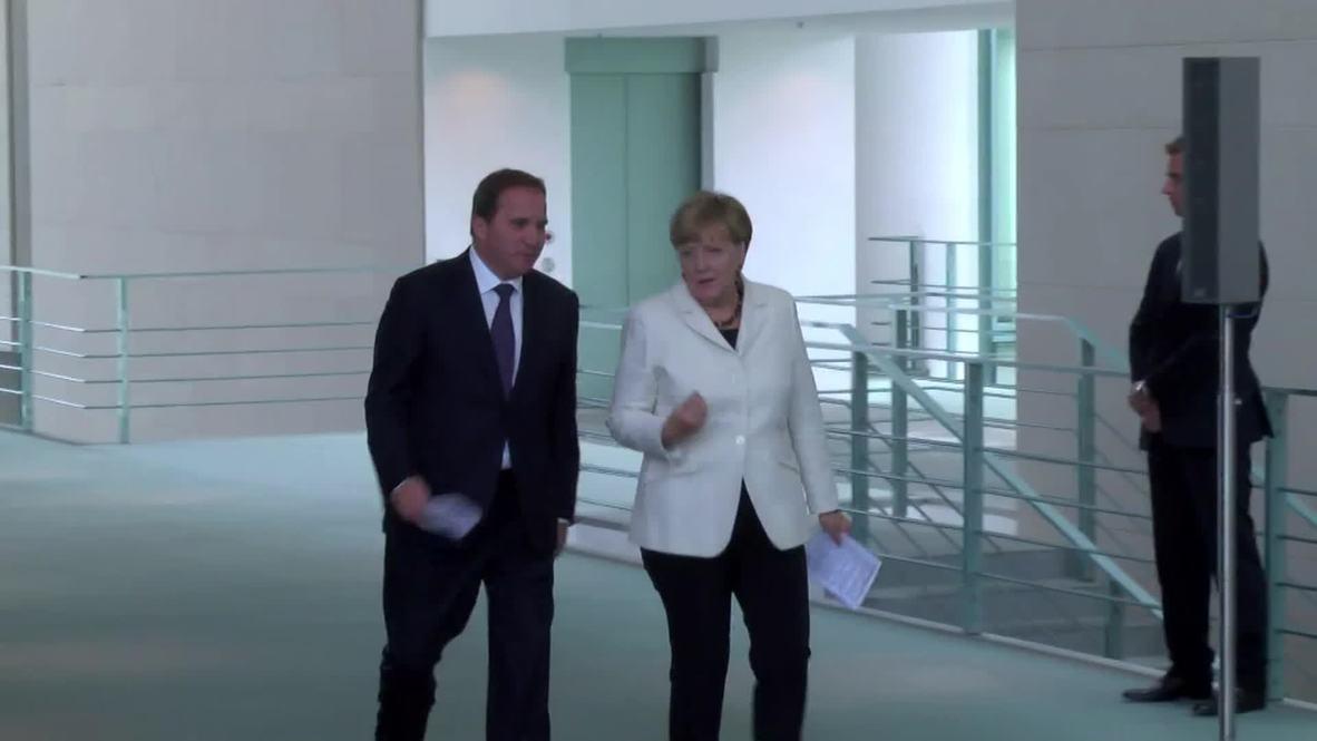 Germany: Merkel calls for European unity on refugee crisis