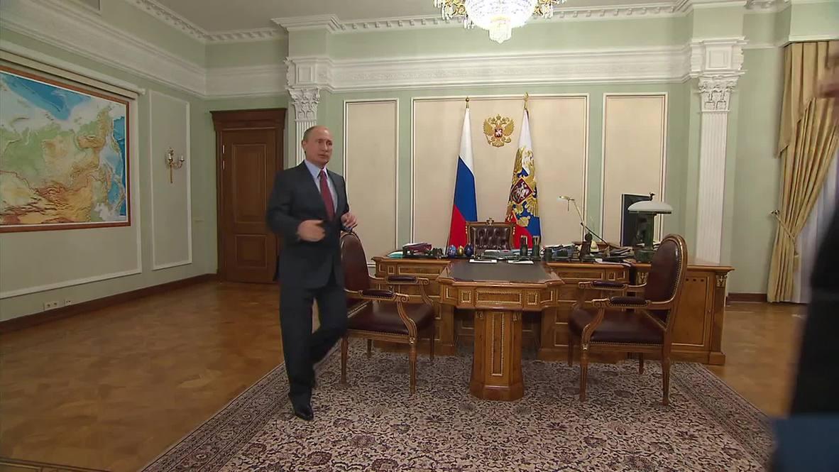 Russia: Putin hears update on Magadan gold mining project