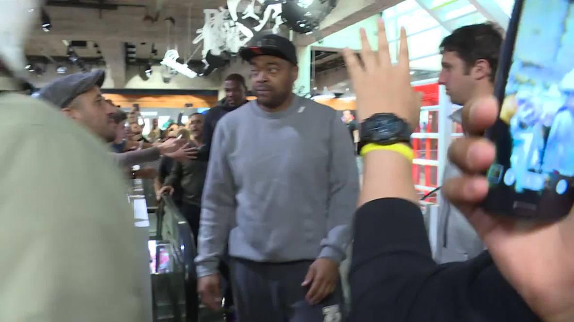 Germany: NBA superstar Kevin Durant visits Berlin