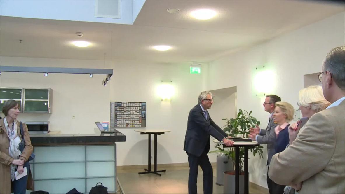 Germany: DefMin von der Leyen pledges more soldiers to help with refugee crisis
