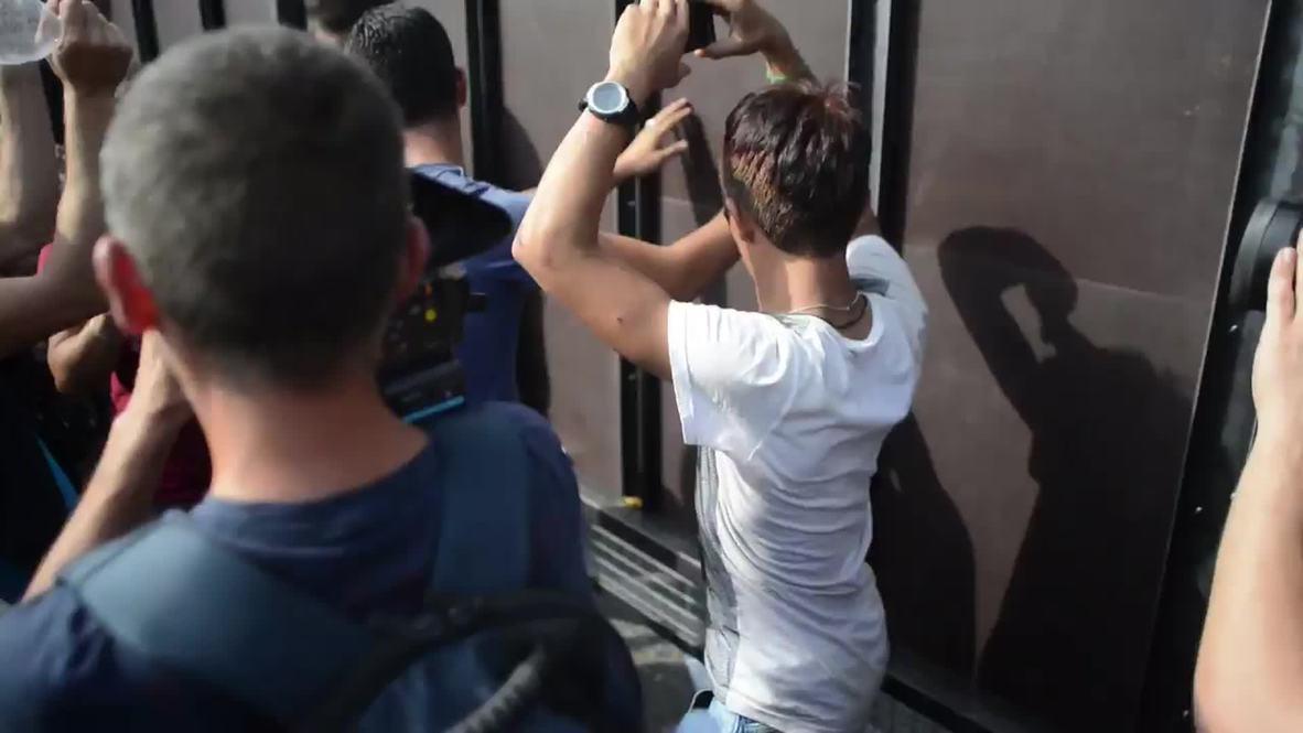 Serbia: Situation tense at Hungarian border following full closure