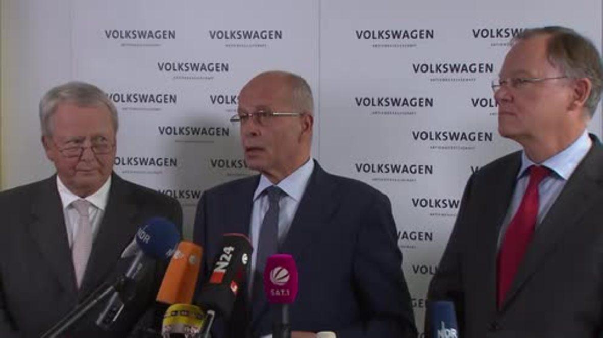Germany: Volkswagen CEO Winterkorn resigns
