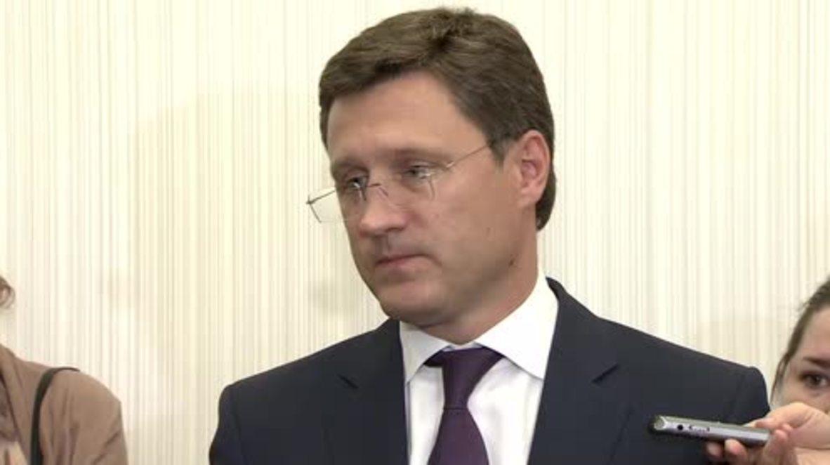 Russia: Draft resolution stipulates $20 gas discount for Ukraine - Novak