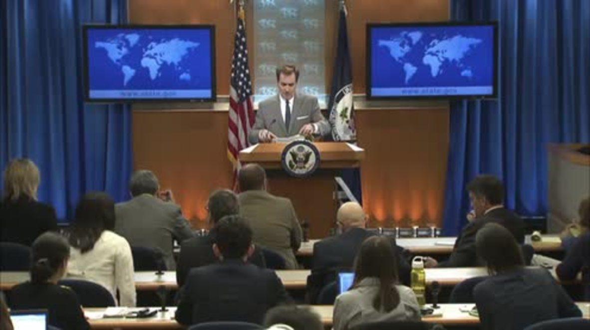 USA: White House criticizes Russia's involvement in Syria