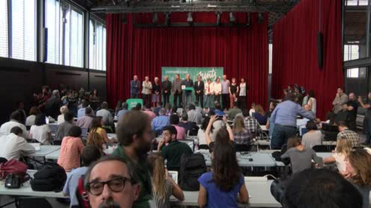 Spain: Junts pel Si's Raul Romeva calls for dialogue with Madrid