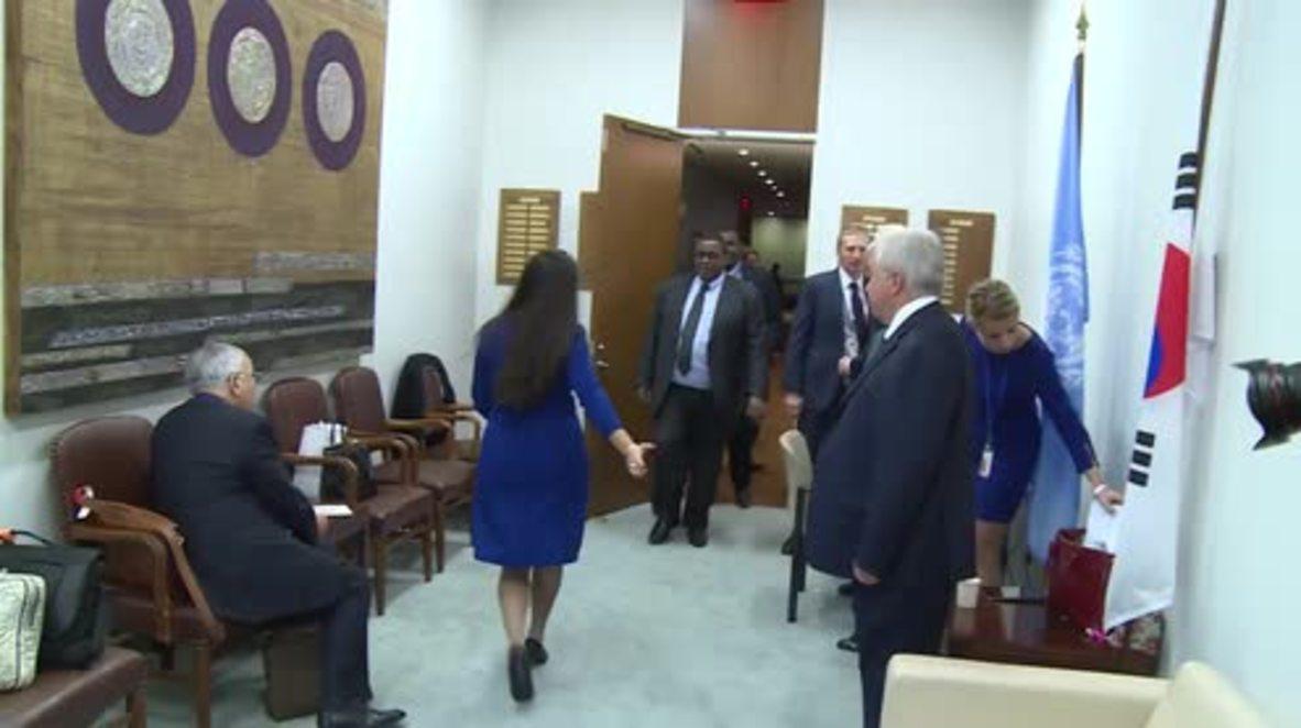 UN: Lavrov meets Somali PM on sidelines of UNGA