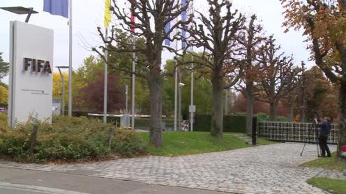 Switzerland: FIFA suspend Blatter, Platini and Valcke amid corruption scandal