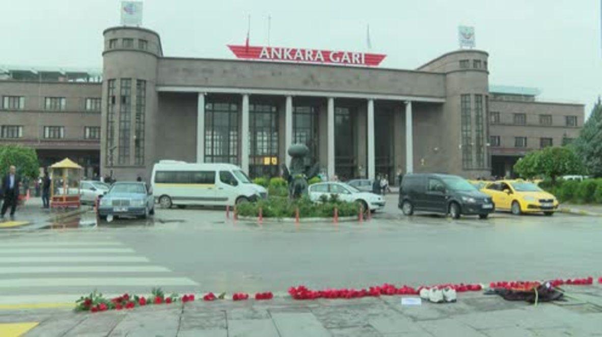 Turkey: Monday dawns as the Ankara bombing death toll rises to 128