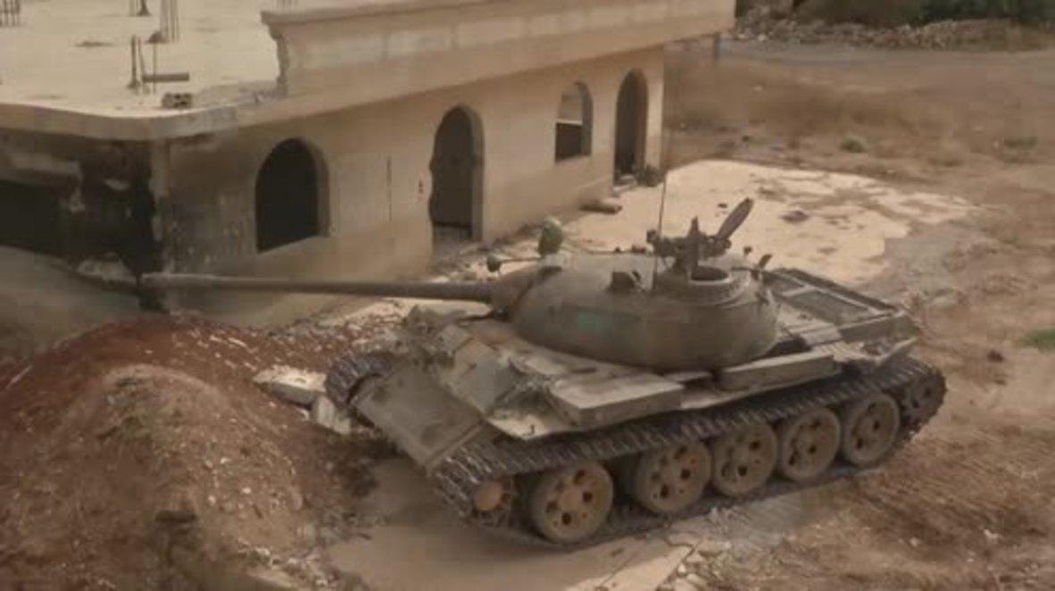Syria: Army battle Jabhat al-Nusra close to Golan Heights