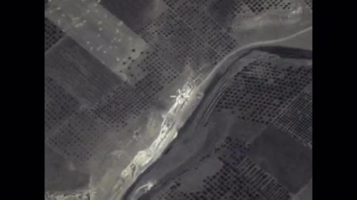 Syria: Russian airstrikes destroy underground base in Hama