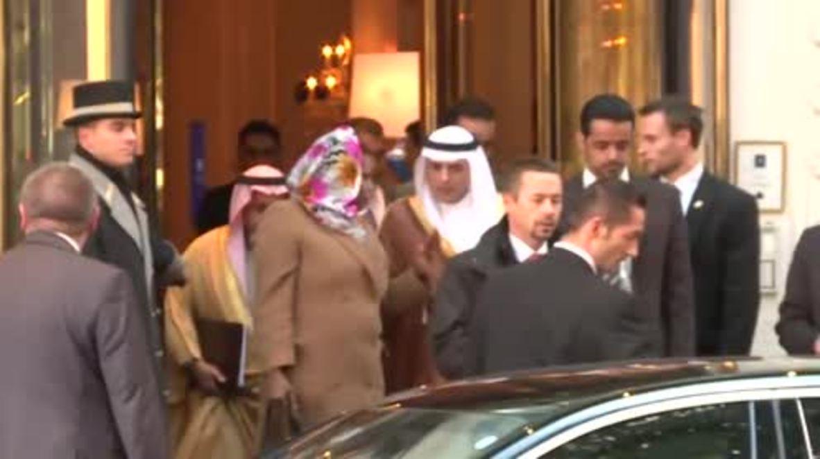 Austria: Saudi FM Adel al-Jubeir leaves hotel after talks on Syria