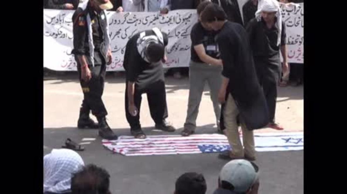 Pakistan: US and Israeli flags burn at Karachi Ashura rally
