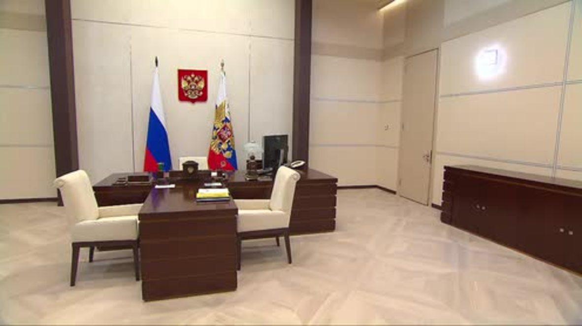 Russia: Putin meets governor of Sevastopol to discuss socio-economic development