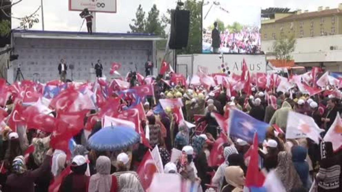 Turkey: AKP hold Diyarbakir rally as election looms