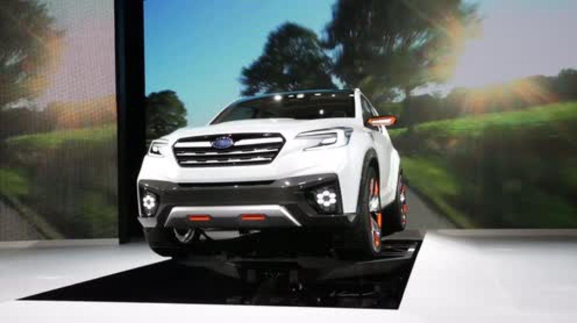 "Japan: Subaru's VIZIV SUV revealed, offering ""enjoyment and peace of mind"""