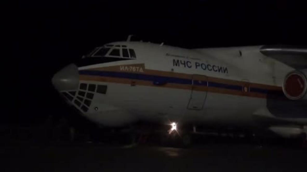 Yemen: EMERCOM plane blocked from leaving Sanaa after 23-ton humanitarian drop-off