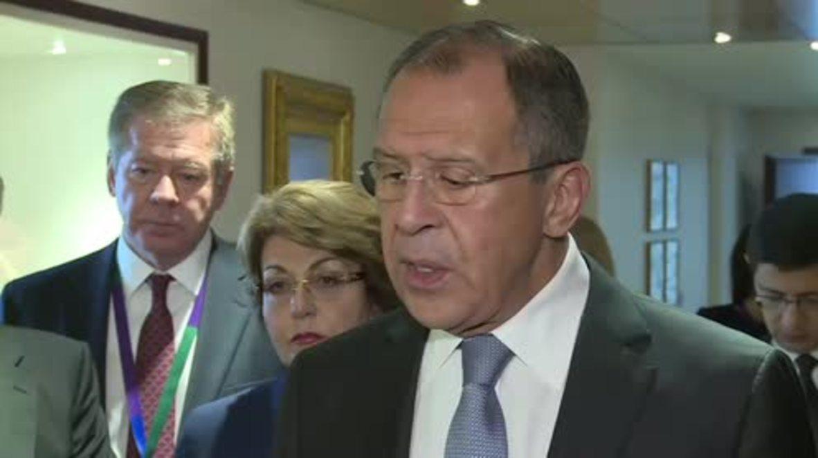 France: Lavrov calls for UNESCO investigation into ISIS' Palmyra destruction
