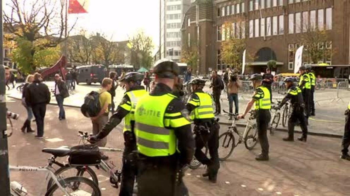 Netherlands: PEGIDA protests in Utrecht as antifa counter, tensions mount