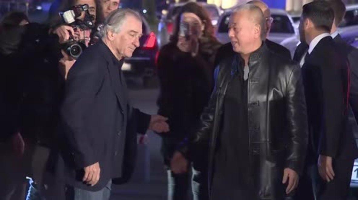 """Russia: Robert De Niro calls for an end to U.S.- Russia """"bullshit"""""""