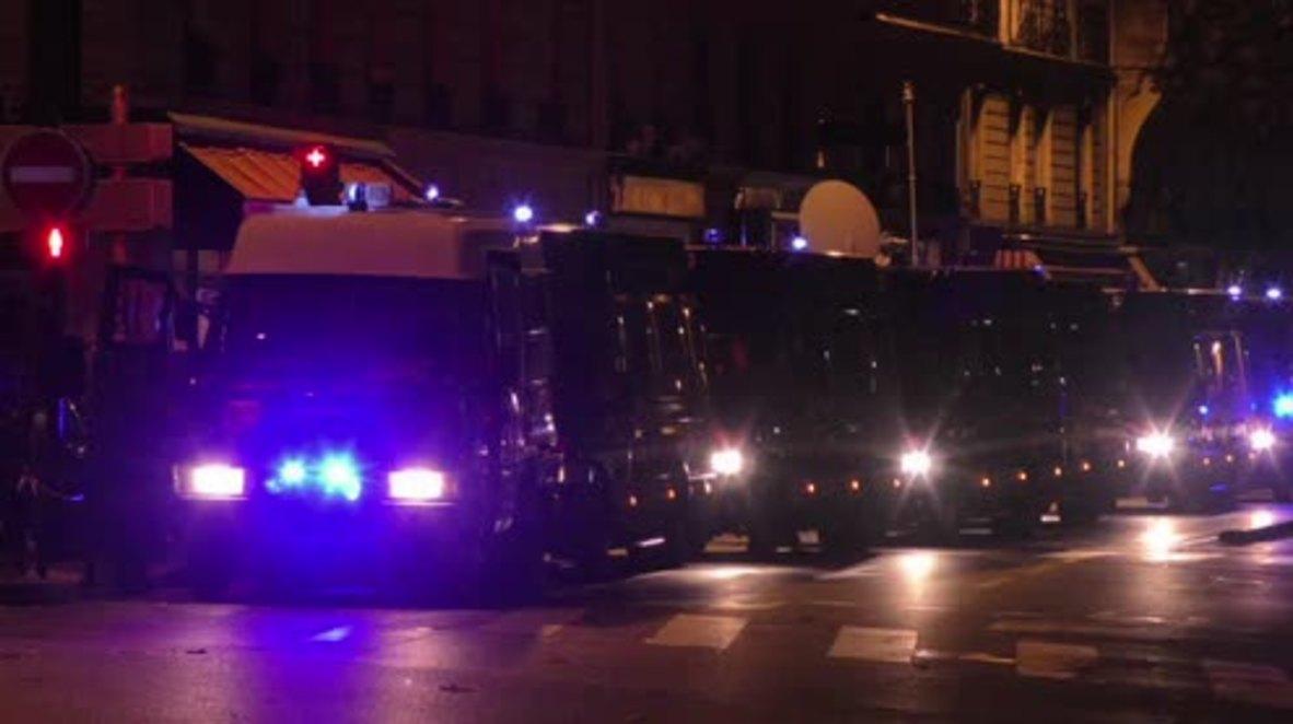 France: Security remains high at make-shift medical centre for Paris attack survivors