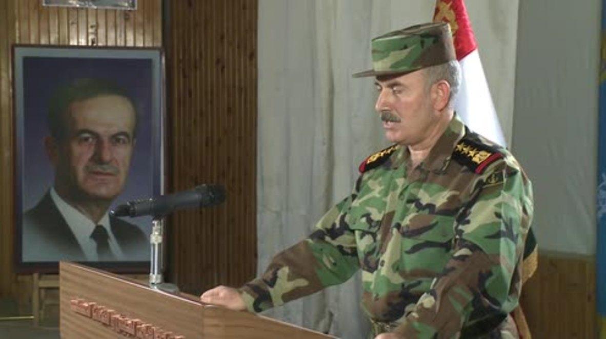 Syria: Regions of Aleppo now safe to return to following army advance - Muaeeb