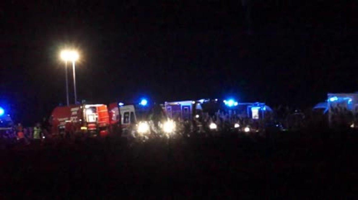 France: 10 dead as train derails near Strasbourg
