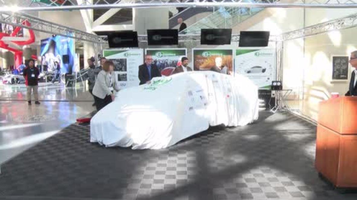 USA: Elio Motors unveils P5 Prototype at Los Angeles Auto Show