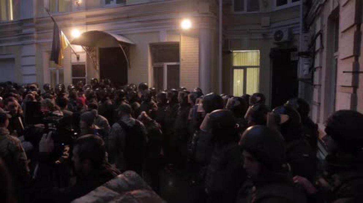 Ukraine: Protesters force Kiev court to free suspected Rada attacker Sergei Boiko