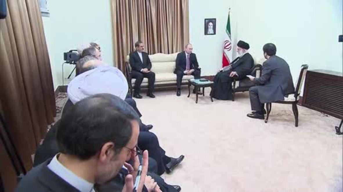 Iran: Putin meets Ayatollah Khamenei on sidelines of GECF summit