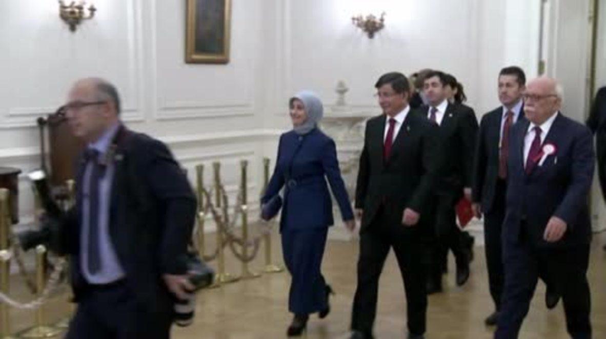 Turkey: We will take 'any necessary precautions' to defend our nation - Davutoglu