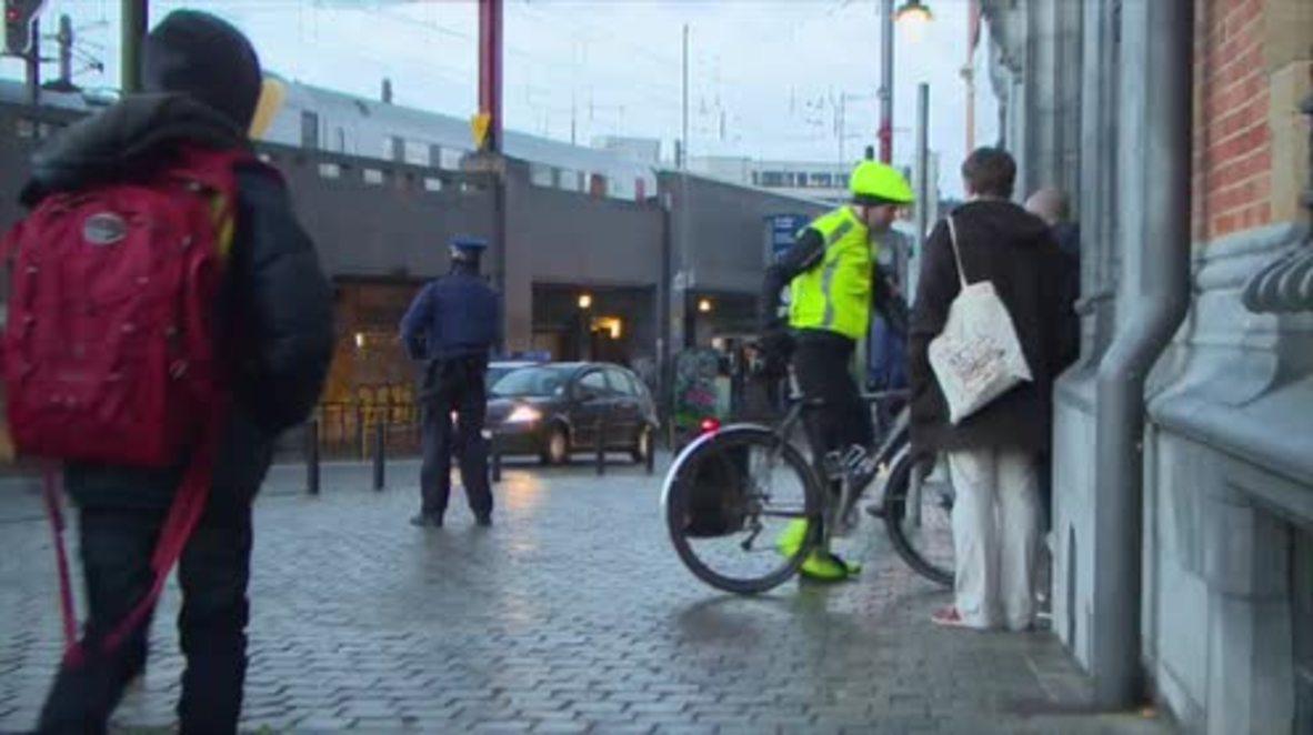 Belgium: Schools and metro reopen despite ongoing terror alert