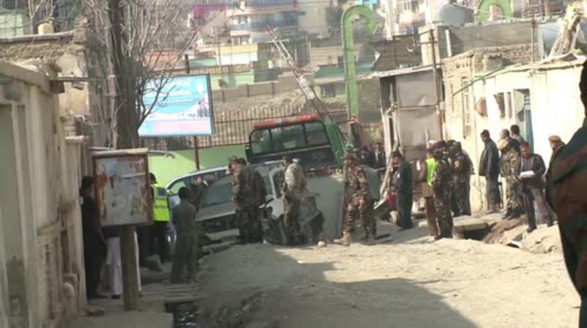 Afghanistan: Suicide blast targets senior election official in Kabul