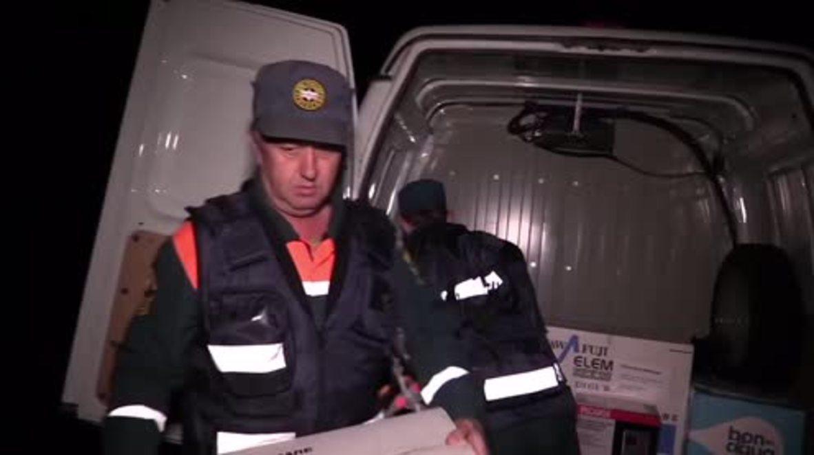 Russia: EMERCOM generators bring vital power for Crimean children's medical devices