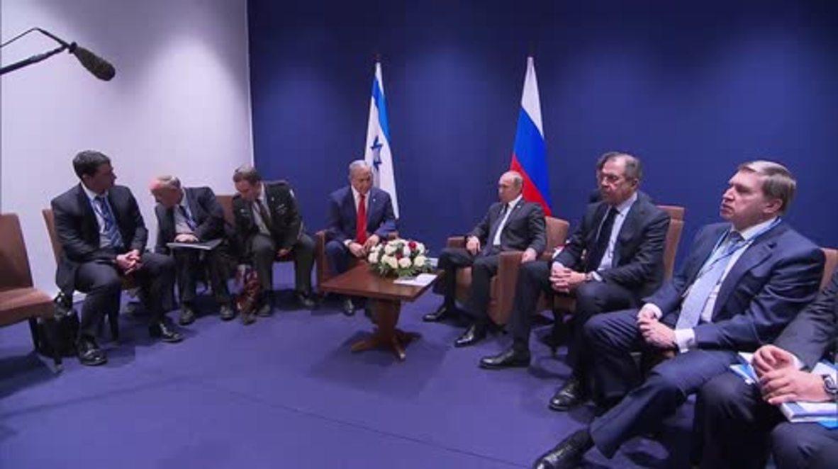 France: Putin and Netanyahu talk military cooperation at COP21