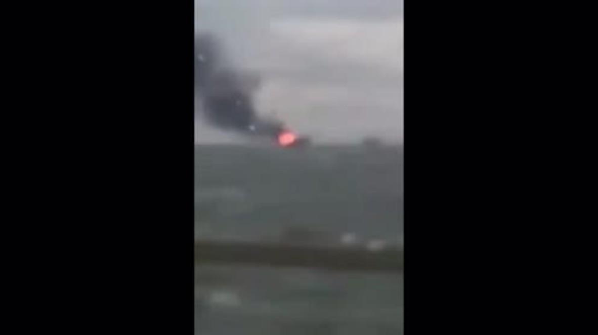 Azerbaijan: 32 killed after oil platform catches fire in Caspian Sea