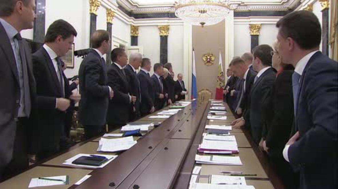 Russia: Novak updates Putin on energy-supply situation in Crimea
